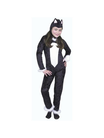 Child Cat Jumpsuit Costume
