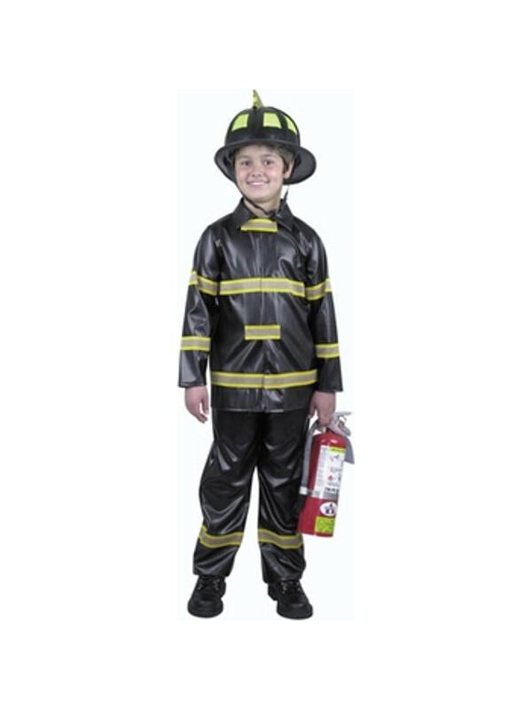 Child's Fireman Costume-COSTUMEISH