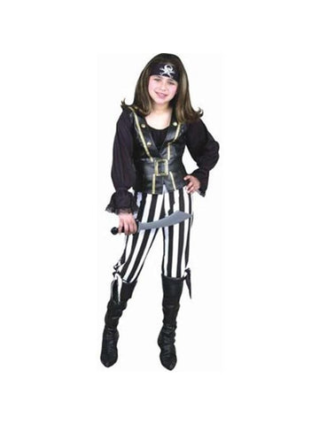 Child's Pirate Queen Costume