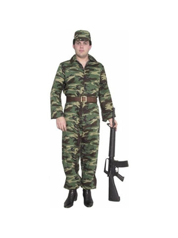 Adult ARMY GI Costume