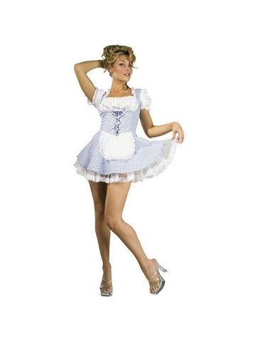 Adult Sexy Dorothy Costume With Petticoat-COSTUMEISH