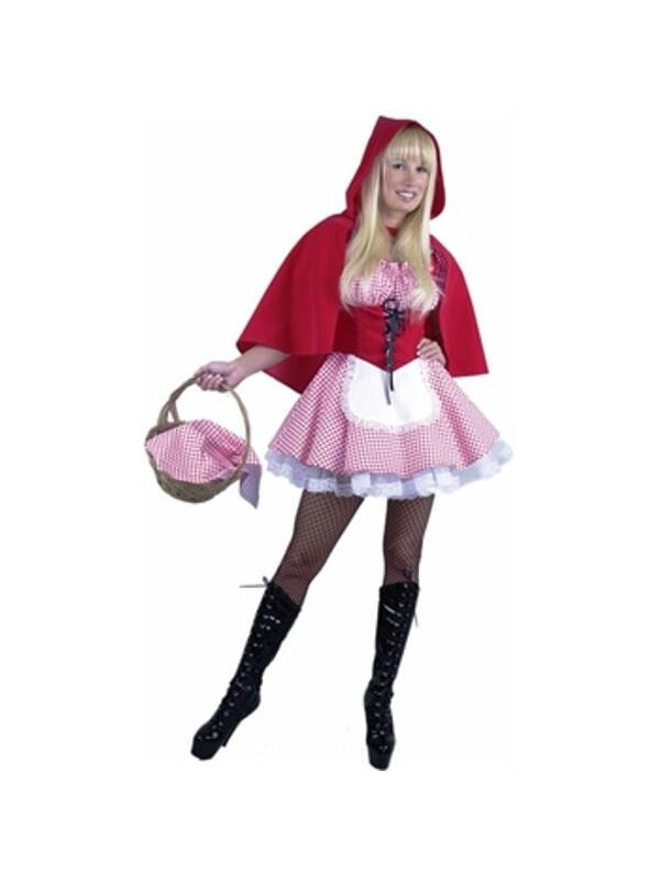 Adult Sexy Little Red Riding Hood Costume-COSTUMEISH