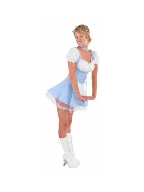 Adult Sexy Alice Costume-COSTUMEISH