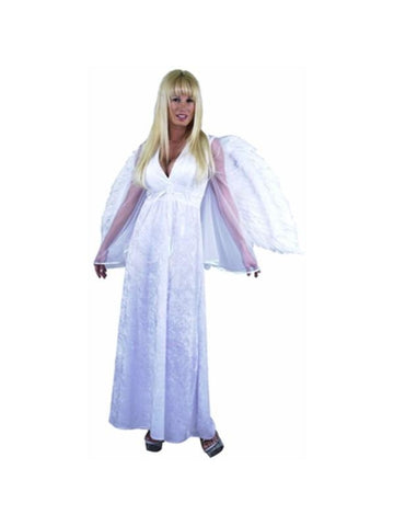 Adult Long Angel Dress Costume