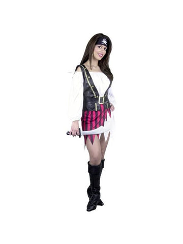 Adult Fashion Pirate Lady Costume
