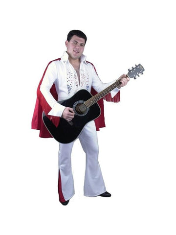 Adult Rhinestone Rock Star Costume-COSTUMEISH
