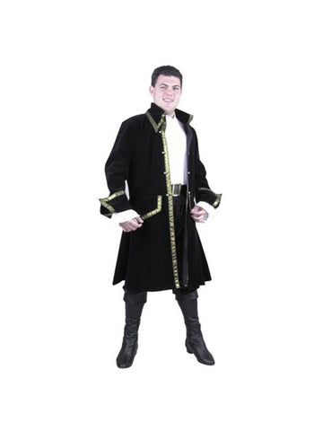 Adult Leather Pirate Captain Costume-COSTUMEISH