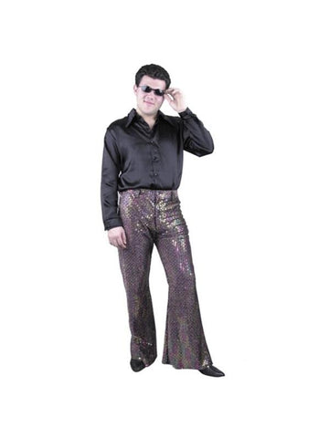 Adult Men's Sequin Disco Pants