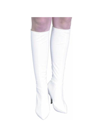 Adult Vinyl Knee High Boot Covers-COSTUMEISH