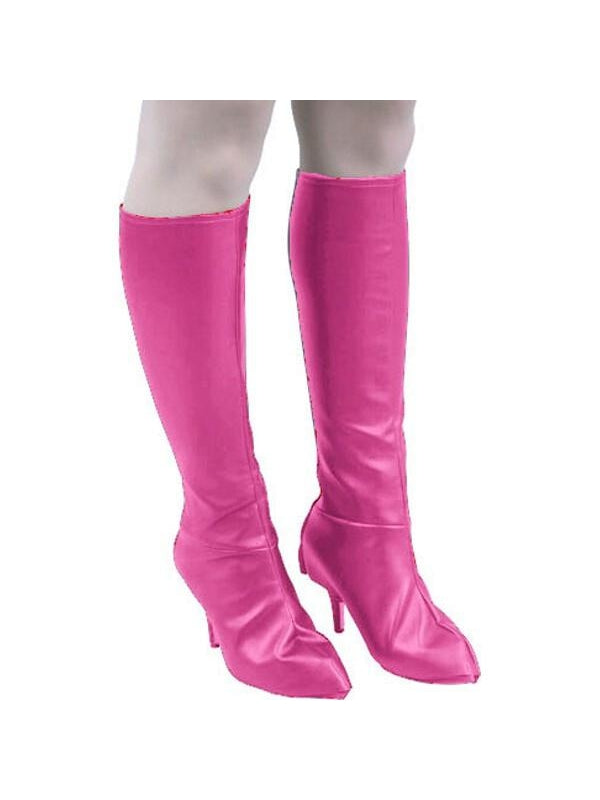 Adult Leatherette Knee High Boot Covers-COSTUMEISH