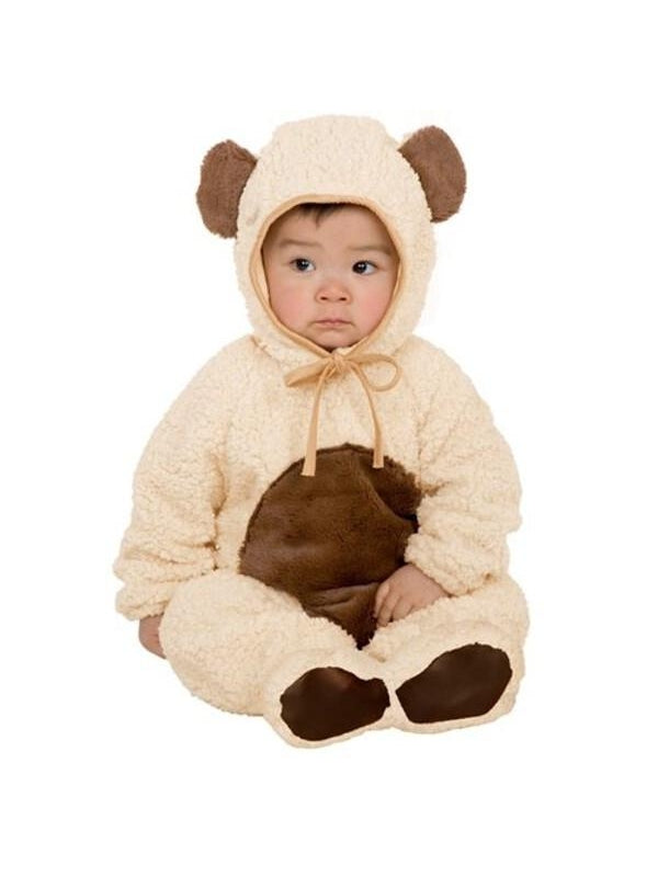 Toddler Oatmeal Bear Costume-COSTUMEISH
