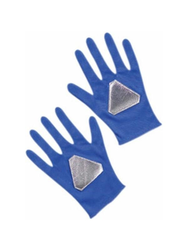 Child's Blue Ranger Gloves-COSTUMEISH