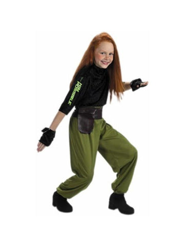 Child's Kim Possible Agent Costume
