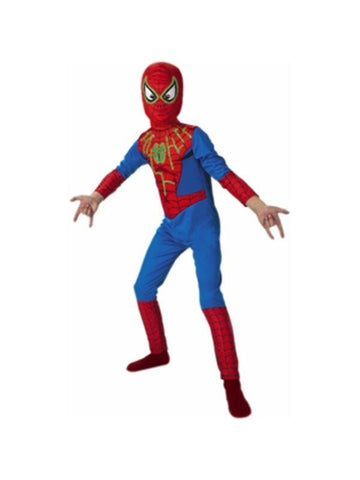 Child's Glow-in-the-Dark Spider-Man Costume