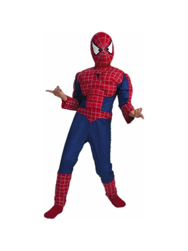 Child's Spider-Man Muscle Chest Costume-COSTUMEISH