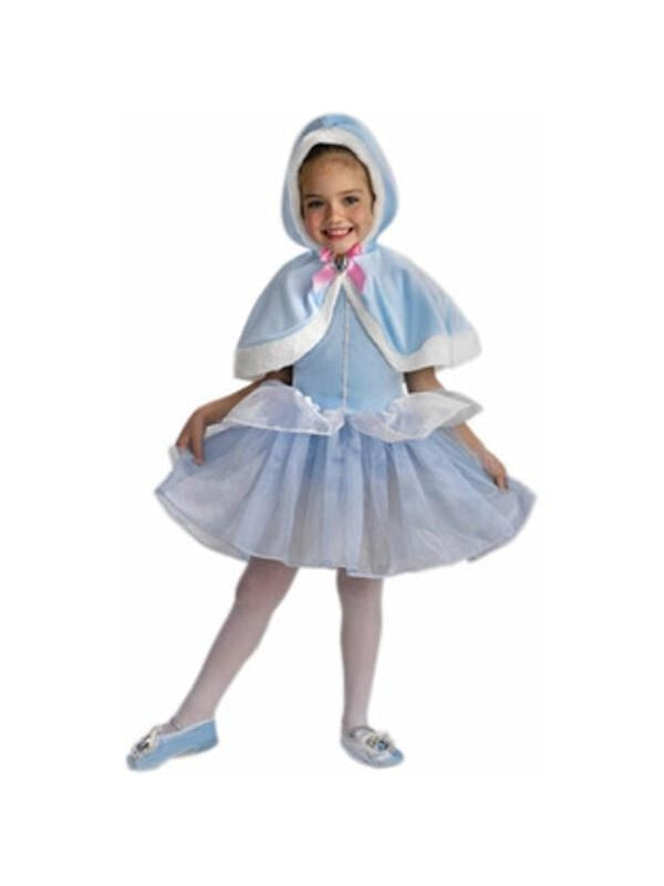 Child's Cinderella Balerina Cape-COSTUMEISH