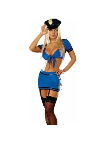 Adult Sexy Cop Girl Costume