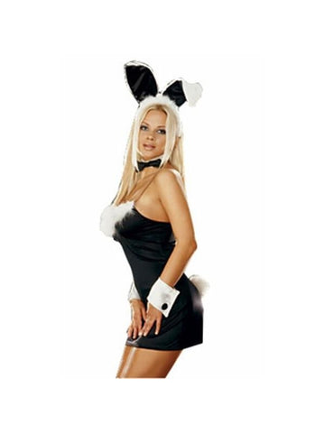 Adult Sexy Bunny Dress Costume-COSTUMEISH