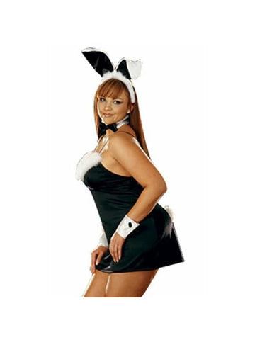 Adult Plus Size Sexy Bunny Costume-COSTUMEISH