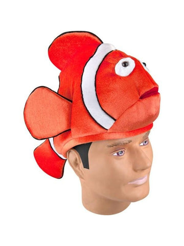 Clownfish Orange Fish Hat