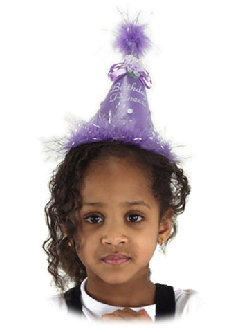 Child's Lavender Birthday Princess Hat