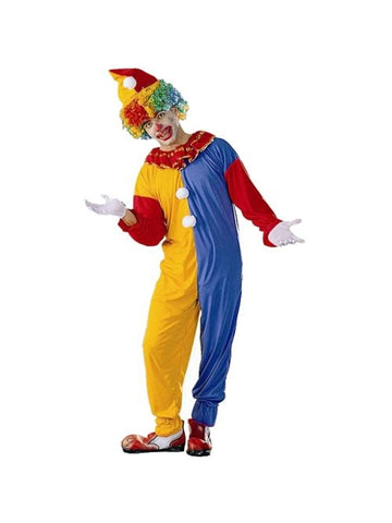 Adult Traditional Circus Clown Costume-COSTUMEISH
