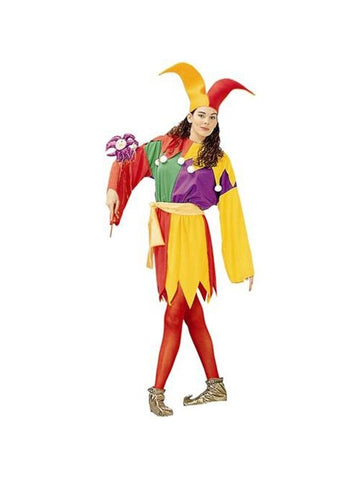 Adult Court Jester Costume-COSTUMEISH