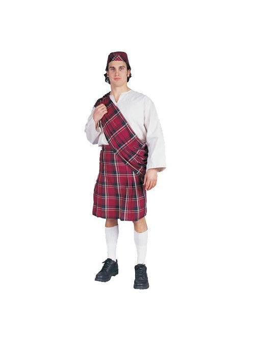 Adult Scottish Costume-COSTUMEISH