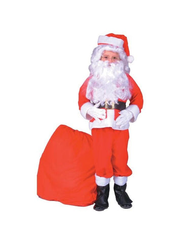 Child Santa Claus Costume Suit