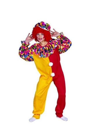 Child Circus Clown Costume