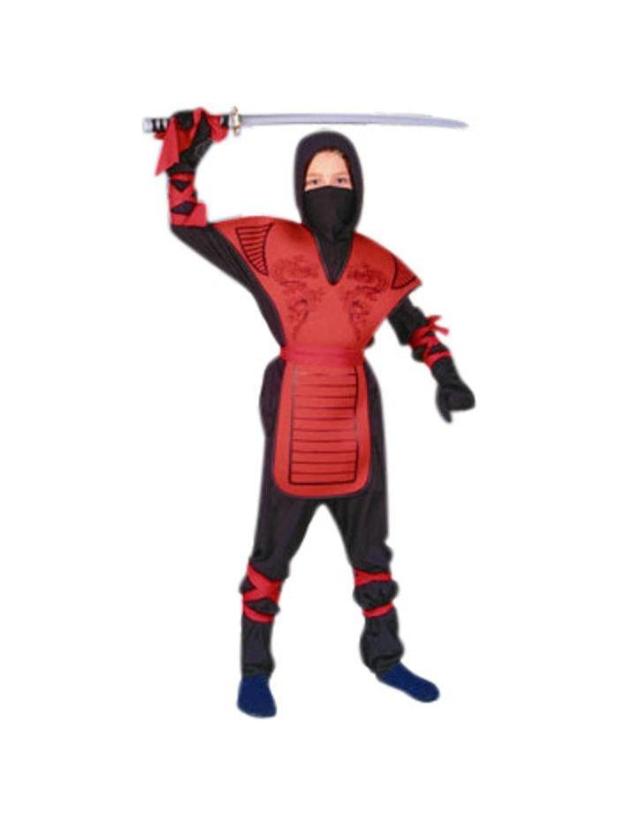 Child's Dragon Ninja Master Costume-COSTUMEISH
