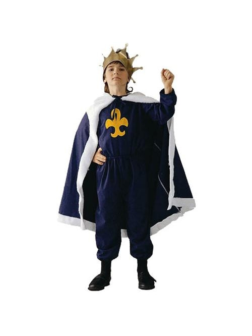 Child's Blue King Costume-COSTUMEISH
