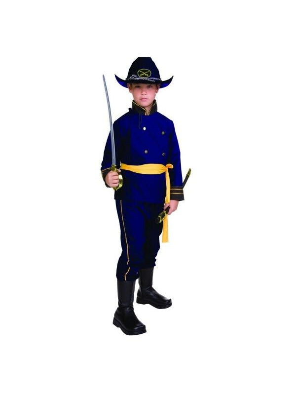Child Union Officer Costume-COSTUMEISH