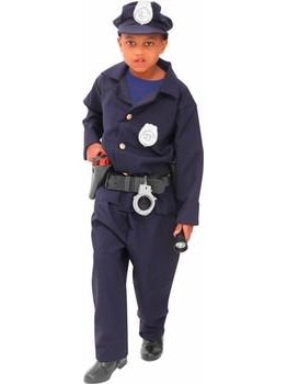 Child Deluxe Policeman Costume