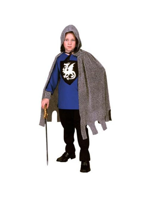 Child's Medieval Blue Dragon Knight-COSTUMEISH