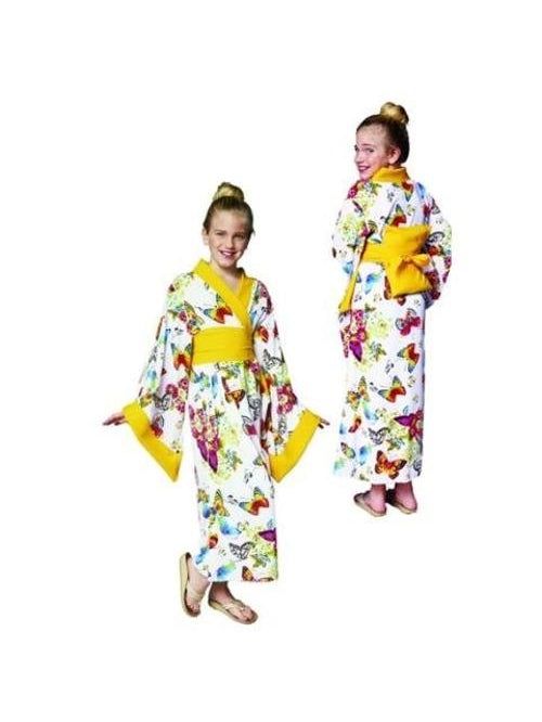 Child's Deluxe Geisha Girl Costume-COSTUMEISH