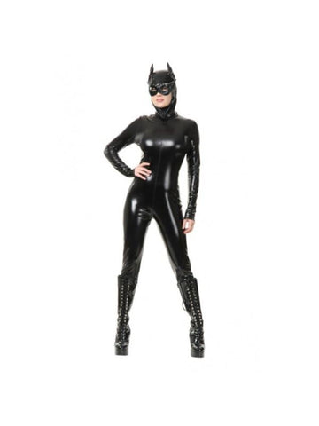 Adult Velour Cat Suit Costume-COSTUMEISH