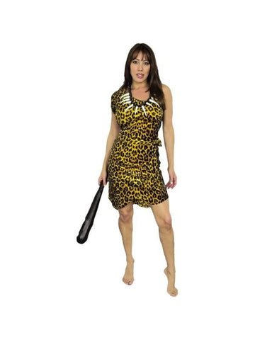 Adult Cavewoman Costume-COSTUMEISH