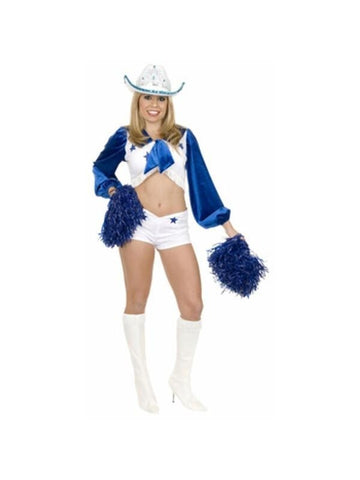 Adult Sexy Dallas Cheerleader Costume-COSTUMEISH