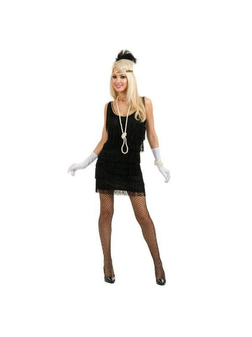 Adult Fashion Flapper Costume-COSTUMEISH