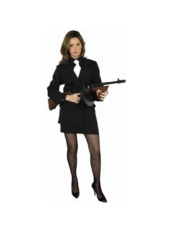 Adult Gangster Moll Costume-COSTUMEISH