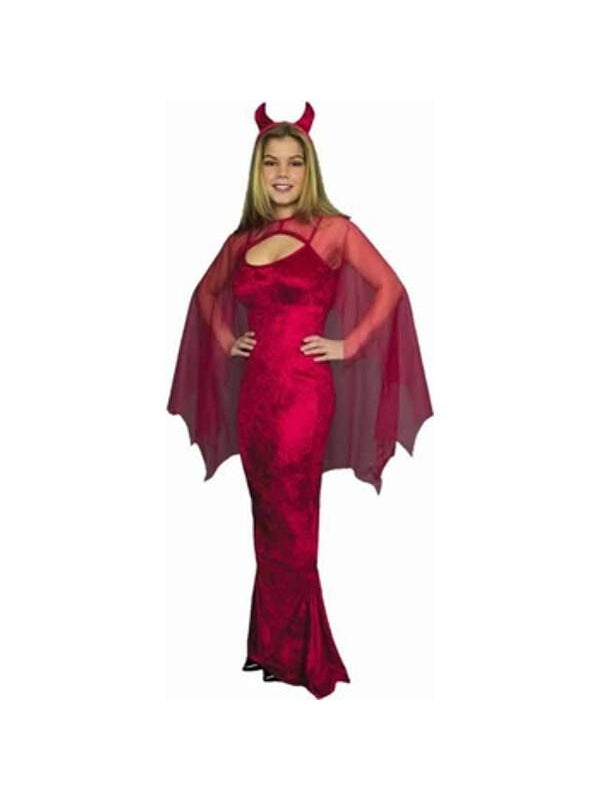 Adult Ladies Devil Costume-COSTUMEISH