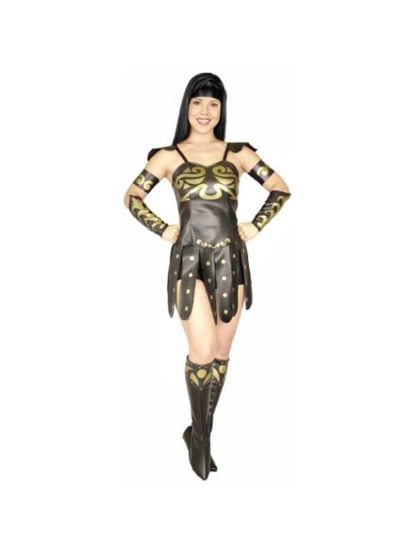 Adult Warrior Princess Costume-COSTUMEISH