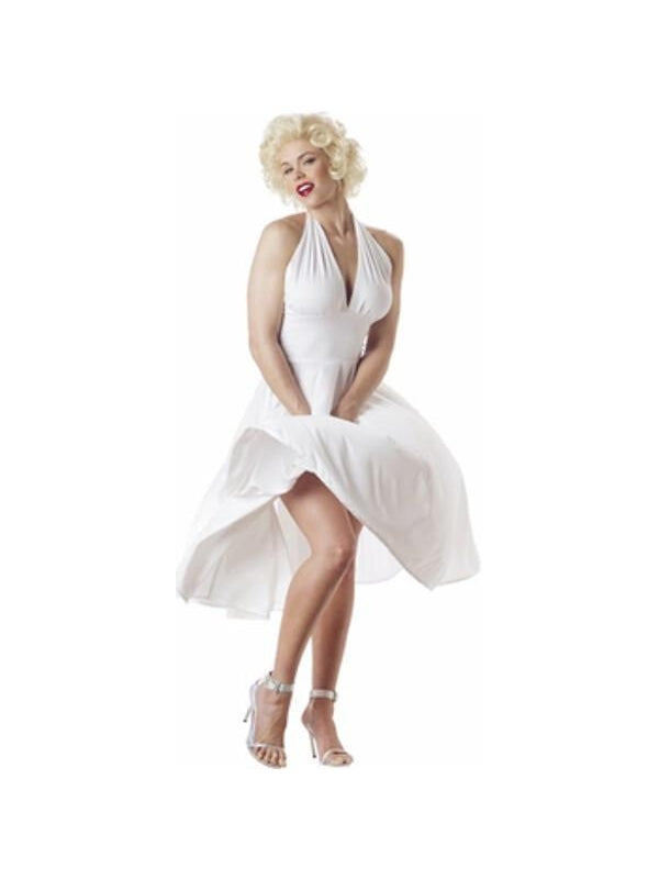 Adult Marilyn Dress Costume-COSTUMEISH