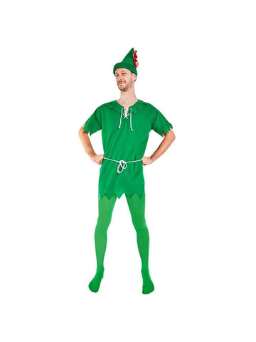 Adult Peter Pan Costume-COSTUMEISH  sc 1 st  Costumeish.com : womens costumes for men  - Germanpascual.Com