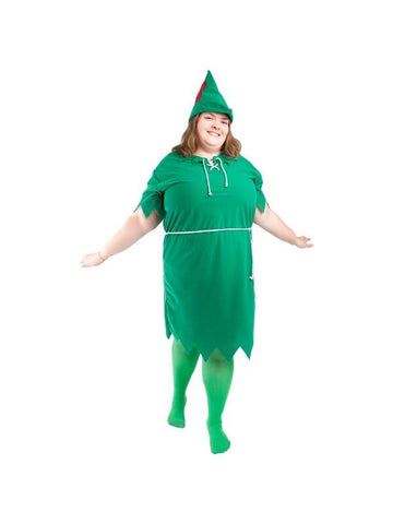 Adult Plus Size Peter Pan Costume-COSTUMEISH