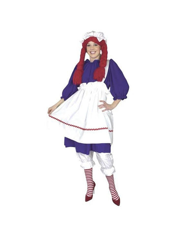 Adult Rag Doll Costume-COSTUMEISH