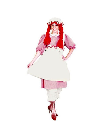 Adult Raggedy Girl Costume-COSTUMEISH