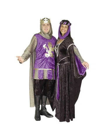 Adult Renaissance King Costume-COSTUMEISH