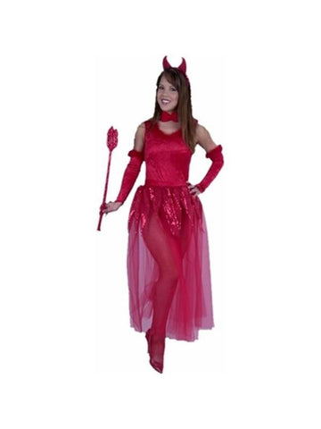 Adult Sheer Devil Costume-COSTUMEISH